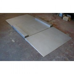 VALUEWEIGH STAINLESS DRIVE-THRU PLATFORM | countyscales.co.uk