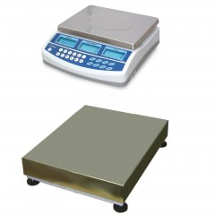 CSG BCD DUAL SCALE REMOTE BASE COUNTING SYSTEM | countyscales.co.uk