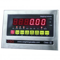 LOCOSC LP SERIES WEIGHING INDICATOR | countyscales.co.uk