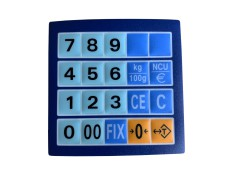 EXCELL FD & FDP REPLACEMENT KEYBOARD OVERLAYS | countyscales.co.uk