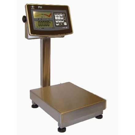 PH CHECK-WEIGHER STAINLESS FOOD SAFE BENCH SCALE