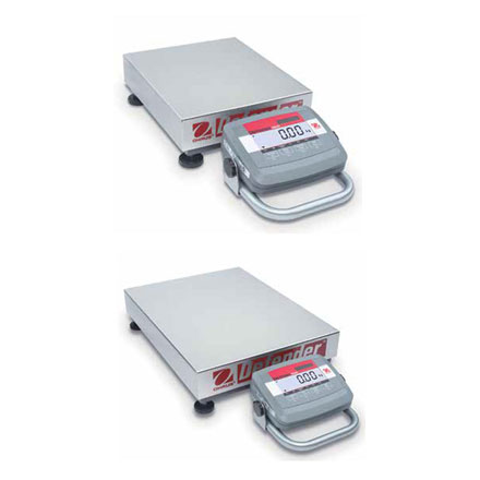 OHAUS DEFENDER 3000 LOW PROFILE FLOOR SCALE