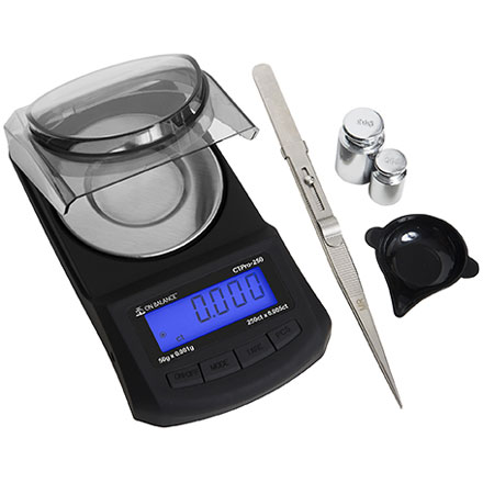 ON BALANCE CTP 250 PRECISION SCALE ACCURACY TO 1 MILLIGRAM.