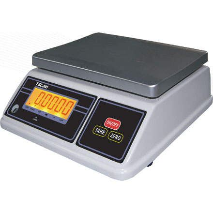 T-SCALE SW-III SERIES WATERPROOF CHECK-WEIGHING SCALE WITH FULL OIML EC TRADE APPROVAL