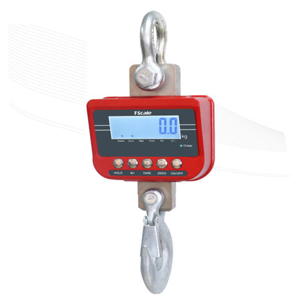 T-SCALE TN SERIES WATERPROOF CRANE SCALE REMOTE CONTROL WITH BLUETOOTH