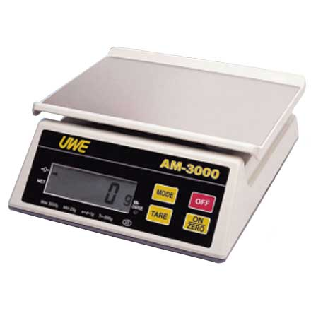 UWE AM Series DIGITAL SCALE Simple to operate electronic bench scale