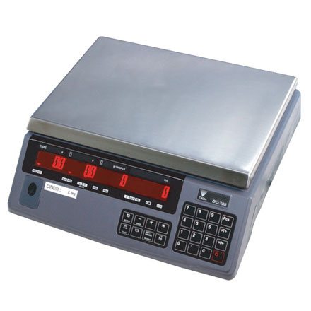 DIGI DC-788 TRADE APPROVED HIGH RESOLUTION COUNTING BENCH SCALE