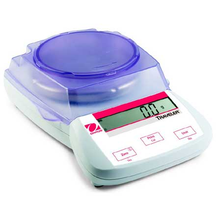 OHAUS TRAVELER PORTABLE BALANCE Value and practicability for basic weighing