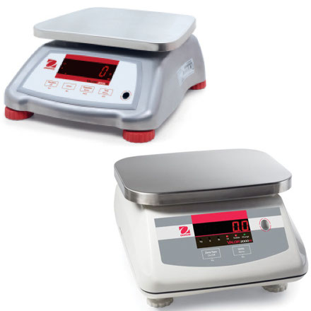 OHAUS VALOR 2000 COMPACT BENCH SCALE
