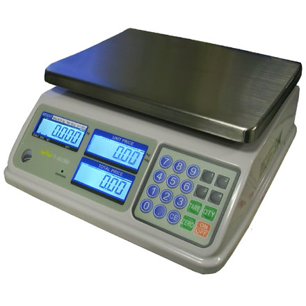 T-SCALE SP SERIES WATER RESISTANT DUAL CAPACITY RETAIL SCALES