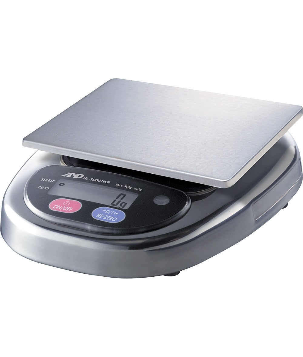 A&D HL-WP DUST AND WATERPROOF SCALE FOR USE IN HARSH ENVIRONMENTS
