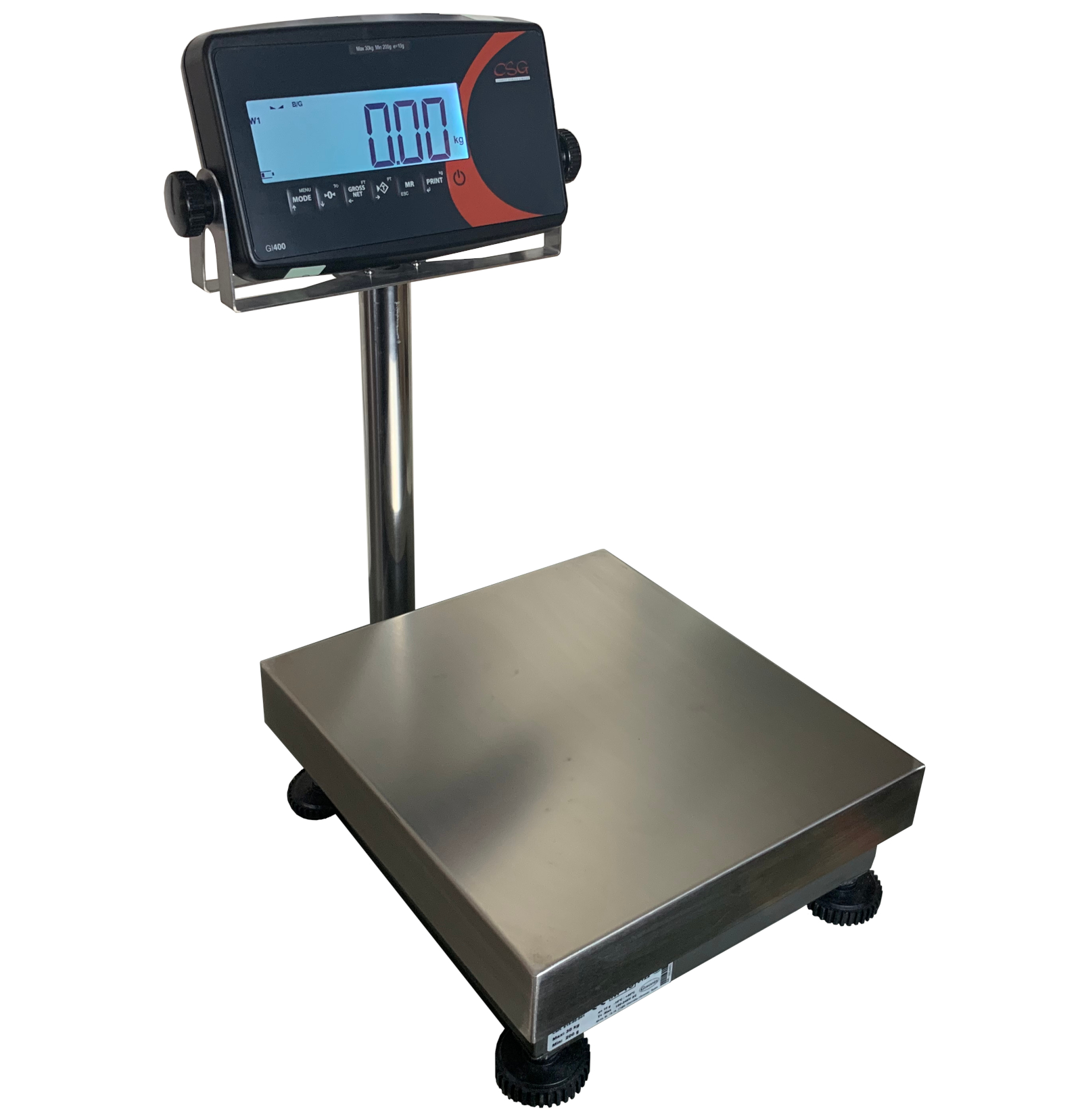 CSG TOPG EC TRADE APPROVED INDUSTRIAL BENCH - FLOOR SCALE