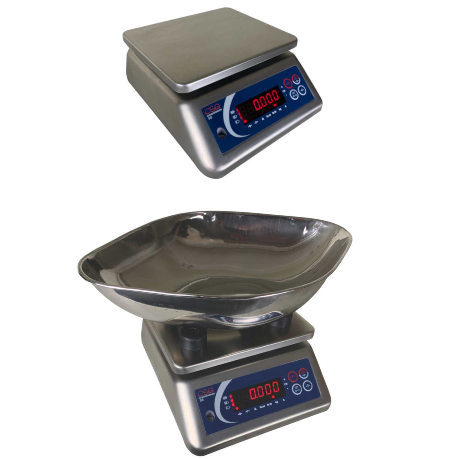 CSG SUPER-SS WATERPROOF FOOD SAFE BENCH SCALE