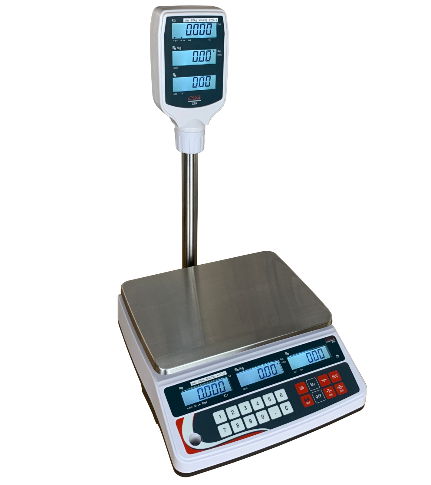 CSG XTA-P PRICE COMPUTING RETAIL SCALE