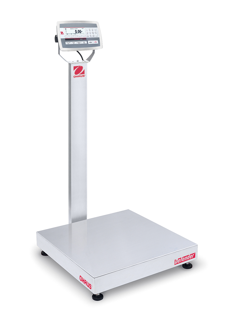 OHAUS DEFENDER 5000 ALL STAINLESS STEEL WASHDOWN SCALES