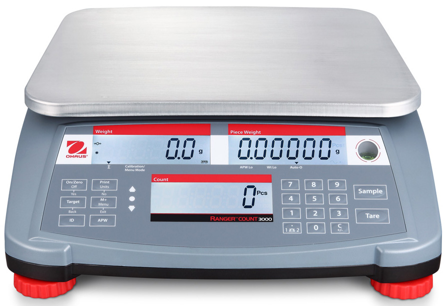 OHAUS RANGER COUNT 3000 | countyscales.co.uk